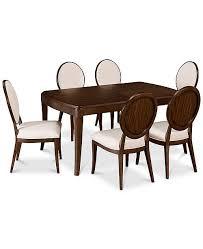Furniture CLOSEOUT Delfina Dining 7 Pc Set Expandable