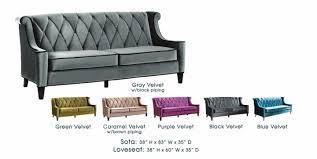 barrister velvet sofa aecagra org