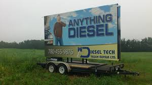 Diesel Tech Truck Repair's Trailer Billboard Is Placed In The ... Anything Auto And Truck Repair Automotive Shop Fitchburg Fancing Semi Towing And Mobile Service Adds Staff Tow Trucks Livingston Mt Whistler Wallington New Jersey York Roadside Enterprise Commercial Roadmart Inc Onestop Services In Azusa Se Smith Sons Inc Home J Parts Rockaway Nj Diesel Elko Neffs Performance Heavy Vermont Tdi 8028685270 Duty Vineland Port Jefferson Mount Sinai Wheel Alignment