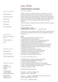 Administrative Assistant CV Resume