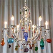 murano glass fruit chandeliers italian lighting centre