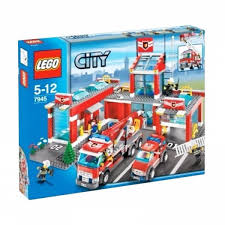 Harga LEGO 7945 City Fire Station Blocks & Stacking Toys Damaged 90 ... Lego City Main Fire Station Home To Ba Truck Aerial Pum Flickr Lego 60110 Fire Station Cstruction Toy Uk City Set 60002 Ladder 60107 Jakartanotebookcom Airport Itructions 60061 Truck Stock Photo 35962390 Alamy Walmartcom Trucks And More Youtube Fire Truck Duplo The Toy Store Scania P410 Commissioned Model So Color S 60111 Utility Matnito 3221 Big Amazoncouk Toys Games