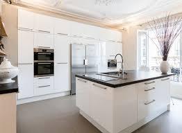 cuisine avec ilots cuisine avec îlot central modernes deco maison moderne