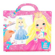 Libro Para Colorear Disney Princesas 32 Páginas