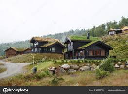 100 Houses In Norway Old Wooden Village Stock Editorial Photo
