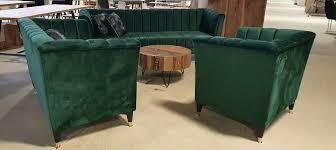 wohnzimmer 3 2 1 set sofa samt grün gold füße aktion