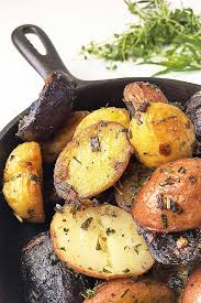 Give Your Spuds A Flavor Makeover With Our Recipe For Cast Iron Roasted New Potatoes