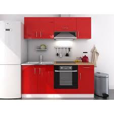 meuble haut cuisine laqué evo cuisine complète 180 cm laqué achat vente cuisine