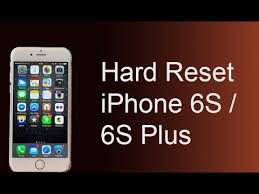 Hard reset iphone 6 5s 5c 5 4s 4 reset to factory settings