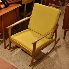 Vintage Banana Rocking Chair by Banana Lab Vintagemidcenturymodern Danish Teak Localarts Furniture