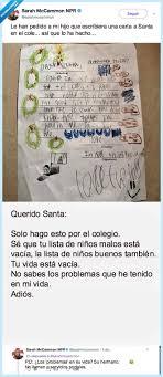 Smiley Como Cartas De Lectura De Papá Noel De Los Niños Santa Claus