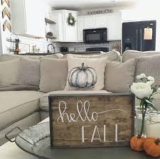 Hello Fall Table Decor