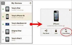 A plete List to Reset iPhone Password