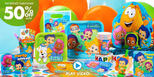 40th Birthday Decorations Nz by Bubble Guppies Party Supplies Girls Party Themes Girls