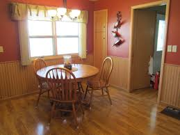 Kitchen Paint Colors With Golden Oak Cabinets by Paint Wainscoting Rixen It Up