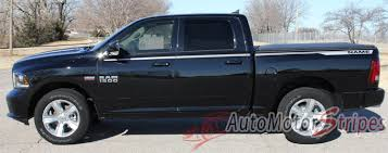 2009-2018 Dodge Ram Truck Graphics Vinyl Side Stripes Decals ...