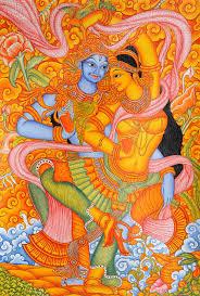 Most Famous Mural Artists by Krishna Mural Painting Krishna Kerala Murals Pinterest