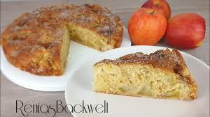 viel frucht wenig teig apfelkuchen lecker