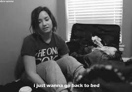 demi lovato bed gif find share on giphy
