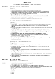 Download Sales Distribution Resume Sample As Image File
