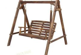 Outdoor Wood Swings For Adults Wooden Global