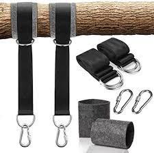 huyu schaukel befestigung baum schaukel gurte 1 paar swing hanging gurt kit hängesessel befestigung set swing straps fastening set aufhängeset für