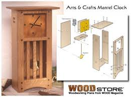 Free Wood Clock Plans by Build Your Own Clock Woodworking Plans