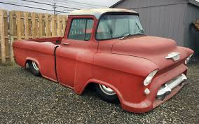 Tub'd Snub Nose: 1956 Chevrolet Cameo Custom 1956 Chevy Truck For Sale Old Car Tv Review Apache Youtube Pin Chevrolet 210 Custom Paint Jobs On Pinterest Panel Tci Eeering 51959 Truck Suspension 4link Leaf Automotive News 56 Gets New Lease Life Chevy Pick Up 3100 Standard Cab Pickup 2door 38l 4wheel Sclassic Car And Suv Sales Ford F100 Sale Hemmings Motor 200 Craigslist Rat Rod Barn Find Muscle Top Speed Current Projects