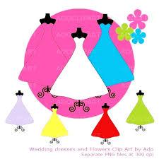 570x570 Pink Wedding Dress Clipart 35