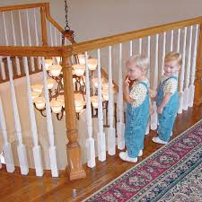 Amazon.com : Kidkusion Kid Safe Banister Guard : Childrens Home ... How To Calculate Spindle Spacing Install Handrail And Stair Spindles Renovation Ep 4 Removeable Hand Railing For Stairs Second Floor Moving The Deck Barn To Metal Related Image 2nd Floor Railing System Pinterest Iron Deckscom Balusters Baby Gate Banister Model Staircase Bottom Of Best 25 Balusters Ideas On Railings Decks Indoor Stair Interior Height Amazoncom Kidkusion Kid Safe Guard Childrens Home Wood Rail With Detail Metal Spindles For The