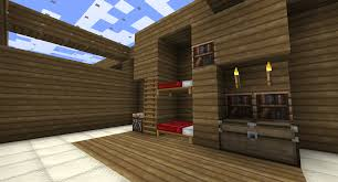100 Inside House Ideas Bunk Beds By Painmaker With Good Minecraft And Best