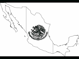 Mexican Flag Coloring Page Pdf Free Printable Pages Archives Mexico With Key Full Size