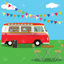 100 Food Delivery Truck Picnic Mobile Cafe In Nature With