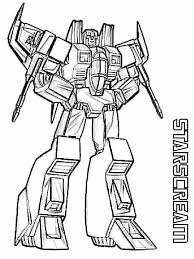 Transformers Coloring Pages Printable Superhero