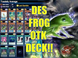 xyz cannon deck yugioh duel links yu gi oh duel links frog otk deck