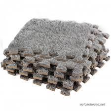 carpet interlocking floor tiles plush carpet area rug puzzle