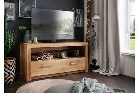 tv kommode i aborg aus massiver wildeiche 117 7 x 56 x 40 cm