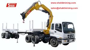 Truck Mounted Knuckle Boom Crane - Buy Crane Product On Alibaba.com