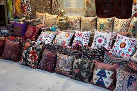 Cushions And Carpets Shop In Istanbul Turkey