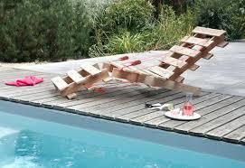 chaise longue palette sur la façon de construire une chaise longue avec