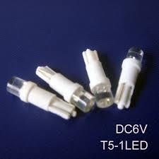 high quality 6v t5 led indicator light car t5 led pilot l 6 3v