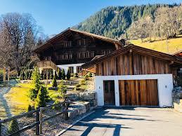 100 Log Cabins Switzerland Ad Sale Chalet Gsteig Bei Gstaad RefV0344GS