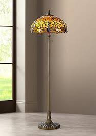 Tiffany Style Glass Torchiere Floor Lamp by Tiffany Style Floor Lamps Lamps Plus