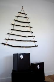 Christmas Trees Kmart Au by Diy Branch Christmas Tree L Christmas Tree Wall Hanging
