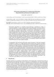 bureau veritas levallois performance degradation in scratched pdf available