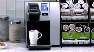 Furniture Starbucks Coffe Makers Elegant Keurig K150 Coffee Maker At Work Youtube