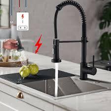niederdruck armatur küche schwarz wasserhahn mit brause