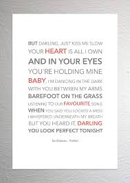 Ed Sheeran - Perfect - Funky Lyric Art Print - A4 Size: Amazon.co.uk ... Arctic Monkeys Four Out Of Five Lyrics Genius Nct Fchant 127 Is Finally Here With Fire Truck Nowkpop Trucks For Children Kids Responding Cstruction Titu Songs Song Children With Video Country Musichearts On Fireenmmylou Harris Gram Parsons Barney Comes The Firetruck Song Lyrics Youtube Blink 182 I Miss You A3 Artwork Lyric Wall Art Kids Hurry Drive The Ed Sheeran Perfect Funky Print A4 Size Amazoncouk Old Boots New Dirt