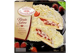 panna cotta torte mit erdbeeren coppenrath wiese