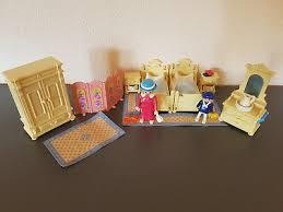playmobil nostalgie rosa puppenhaus 1900 5321 schlafzimmer